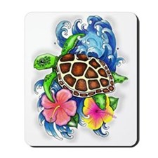 Tropical Sea Turtle Mousepad
