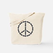 Peace Chain Tote Bag