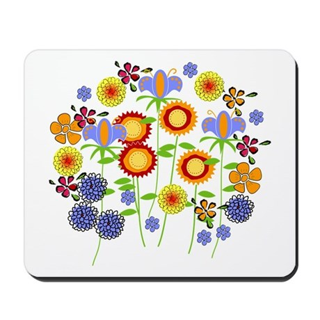flower power Mousepad