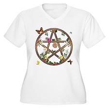 """""""Living Pentagram"""" T-Shirt"""