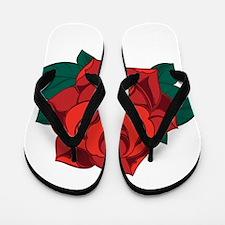 Rose Flip Flops