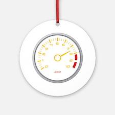 Tachometer Ornament (Round)