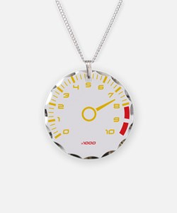 Tachometer Necklace