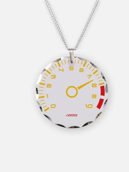 Tachometer Necklace