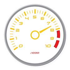 Tachometer Round Car Magnet