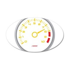 Tachometer Wall Decal