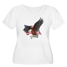 USA Eagle wit T-Shirt