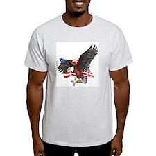USA Eagle with Cross T-Shirt