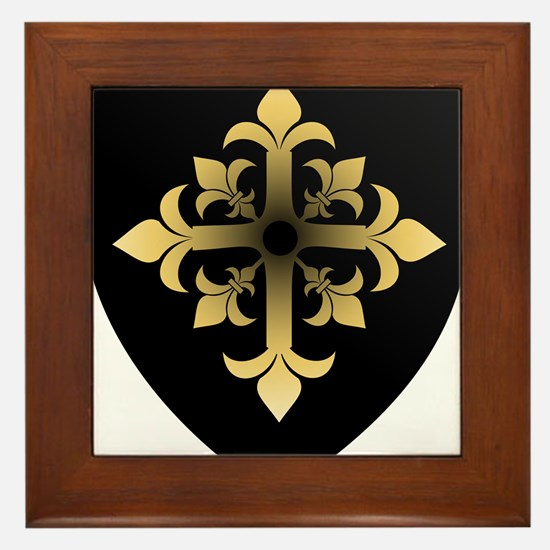Shield Framed Tile