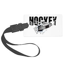 Hockey Luggage Tag