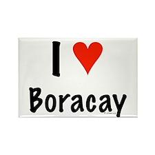 I love Boracay Rectangle Magnet
