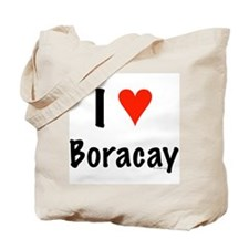 I love Boracay Tote Bag