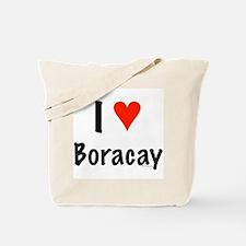 I love Boracay Tote Bag