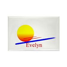 Evelyn Rectangle Magnet