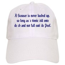 Scouser Lushed Up Blue Baseball Cap