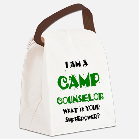 camp counselor Canvas Lunch Bag