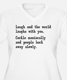 Laugh, Cackle Maniacally Funny T-Shirt