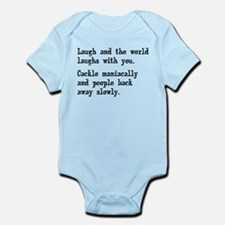 Laugh, Cackle Maniacally Funny Onesie