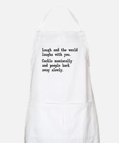 Laugh, Cackle Maniacally Funny Apron