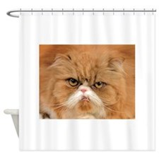 The Maxwell Cat Shower Curtain