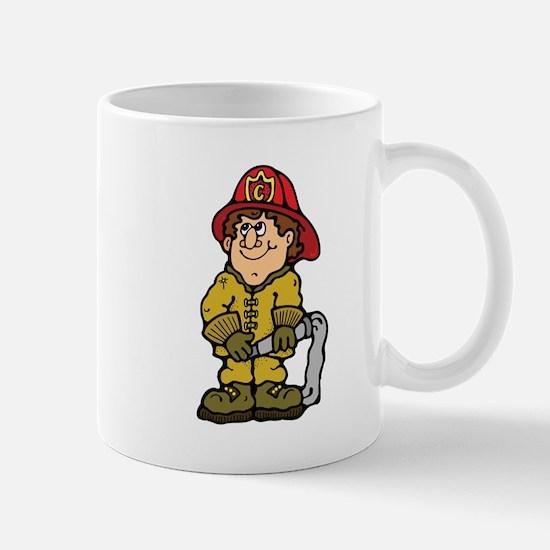 Happy Little Fireman Mug