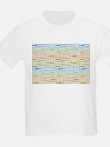 Pitter Patter Splatter Graffiti Cool 47 T-Shirt