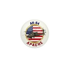 AH-64 Apache Mini Button