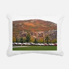 Draper landscape Rectangular Canvas Pillow