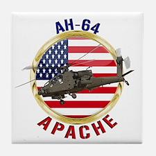 AH-64 Apache Tile Coaster