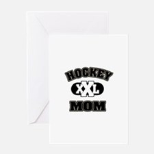 Hockey Mom Greeting Card