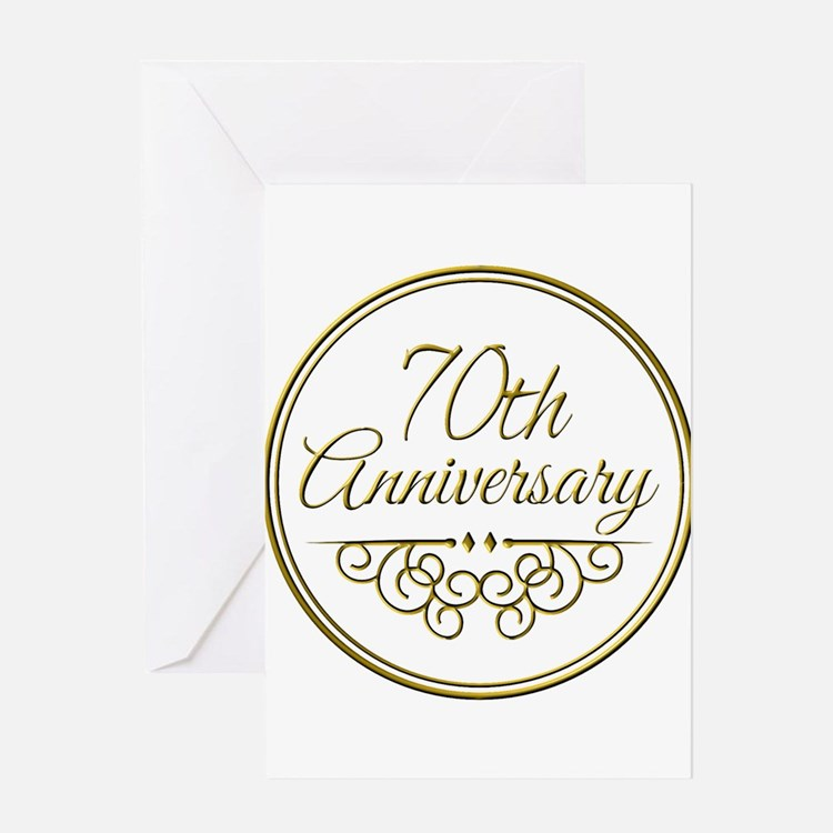70th anniversary greeting cards - Traditional 75th Wedding Anniversary Gift