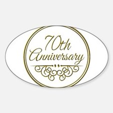 70th Anniversary Decal