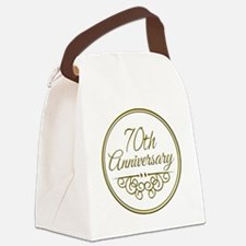 70th Anniversary Canvas Lunch Bag
