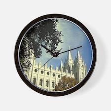Salt Lake Mormon Temple Wall Clock