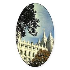 Salt Lake Mormon Temple Decal