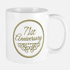 71st Anniversary Mugs
