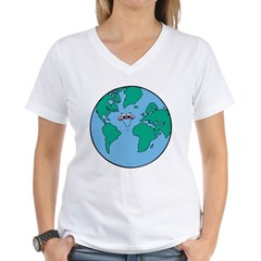 Happy Smiling Earth Shirt