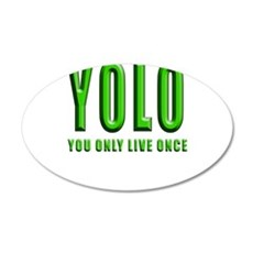 YOLO Wall Decal