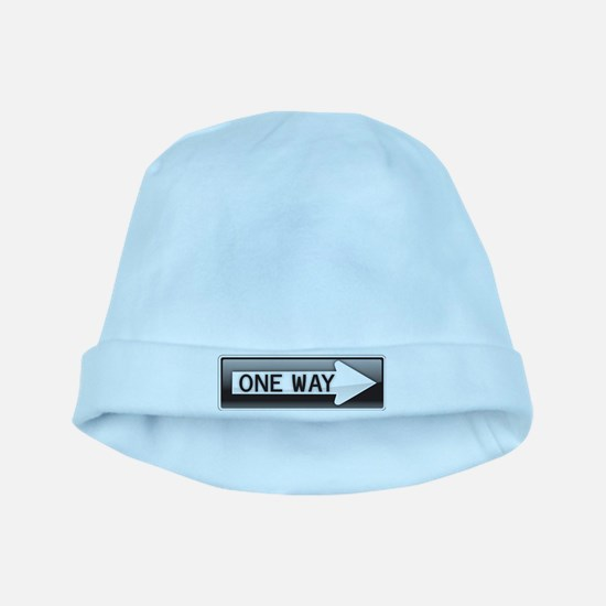 One Way baby hat