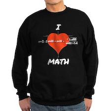 I Heart Math Equation Sweatshirt