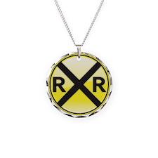 Railroad Crossing Necklace