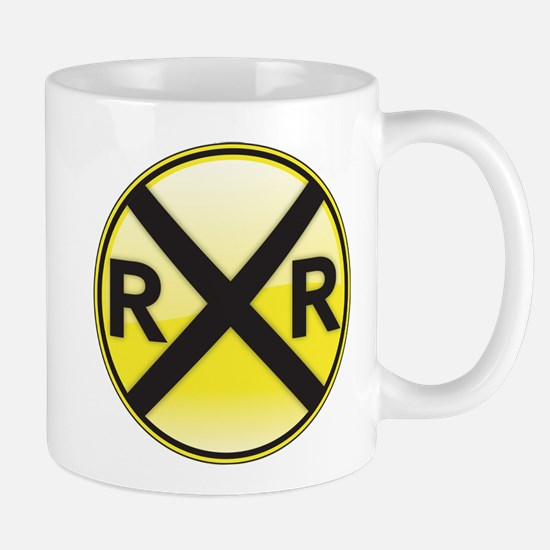 Railroad Crossing Mugs