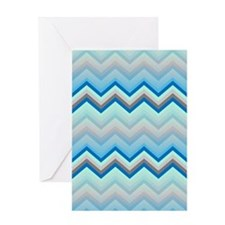 Zig Zag 2 Greeting Card