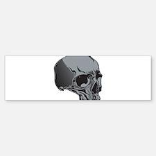 Skull Bumper Bumper Bumper Sticker