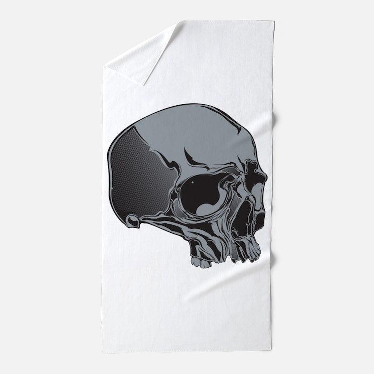 Skull Beach Towel