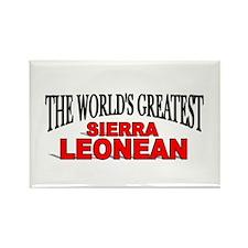 """The World's Greatest Sierra Leonean"" Rectangle Ma"