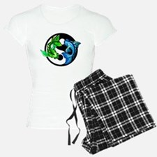 Yin Yang Koi Pajamas