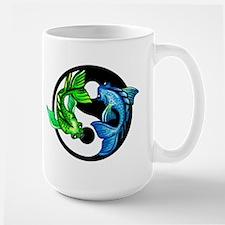 Yin Yang Koi Mugs