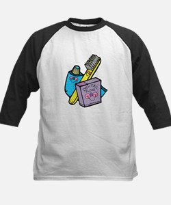 Cute Toothbrush, Toothpaste and Floss Tee
