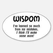 Wisdom Decal